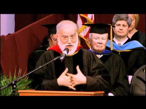 Fr. Cantalamessa - full acceptance address - Franciscan University