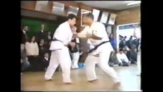 Honbu Dan test Kumite Shokei Matsui