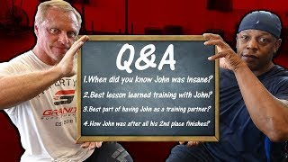 Q & A | Best Lesson Learned | John Was Insane | 2nd Place Finishes