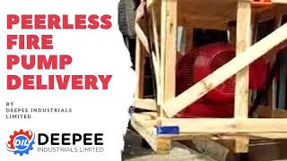 Peerless Fire Pump Delivery