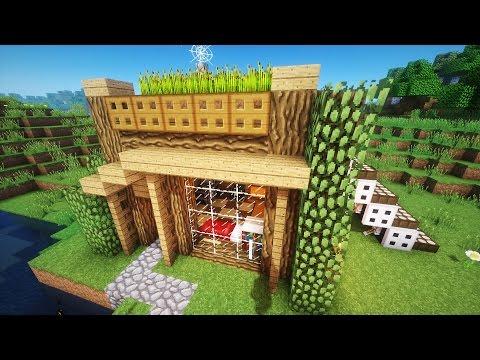 видео: Майнкрафт: Как построить КРАСИВЫЙ СТАРТОВЫЙ ДОМ в minecraft