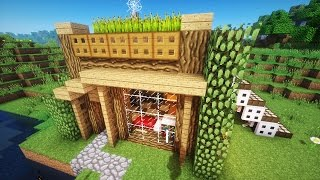 Майнкрафт: Как построить КРАСИВЫЙ СТАРТОВЫЙ ДОМ в Minecraft(С вами ЕвгенБро и я покажу как построить очень красивый и уютный домик в Майнкрафт =3., 2016-06-08T04:00:00.000Z)