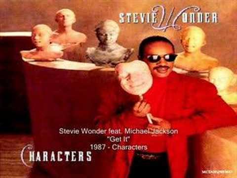 Stevie Wonder - Get It feat. Michael Jackson