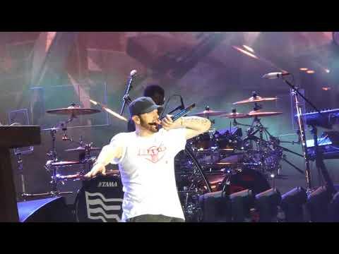 """Happy Bday Tupac & Not Afraid"" Eminem@Firefly Festival Dover, DE 6/16/18"