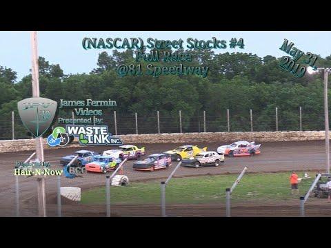 (NASCAR) Street Stocks #4, Full Race, Humboldt Speedway, 05/31/19