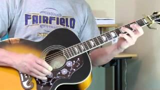 "Mississippi John Hurt Guitar Lesson - ""Candyman"""