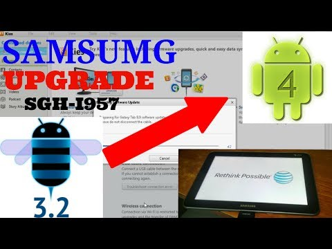 Samsung SGH I957 Upgrade From 3.2 To 4.0.4