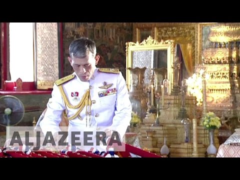 Crown prince Vajiralongkorn becomes Thailand's new king