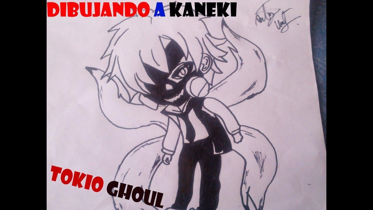 Dibujando A Kaneki Ken Chibi-Kawaii (Tokyo Ghoul)