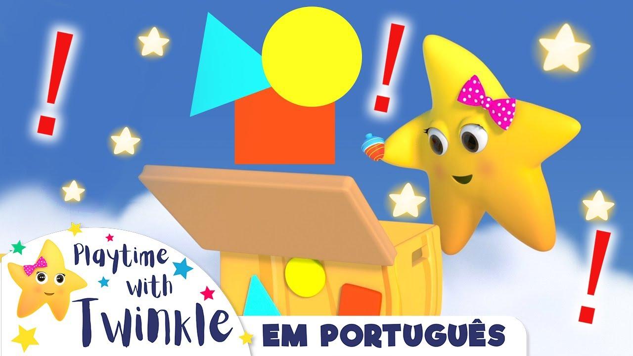 Estrelinha Twinkle brinca | NOVO DESENHO! | Desenhos Animados | Little Baby Bum