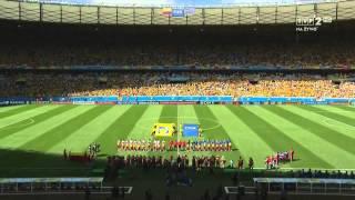 Mundial 2014 Brazylia - mecz fazy grupowej grupy C Kolumbia vs. Grecja