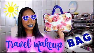 ☀ Travel Makeup Bag ☀ SIMPLE Essential Makeup to Pack for VACATION