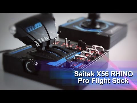 Saitek X56 RHINO Pro Flight Stick - PB Tech Hands On Review