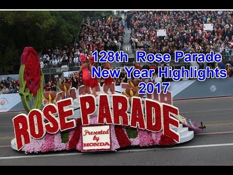 Rose Parade 2017 - USA New year Celebrations