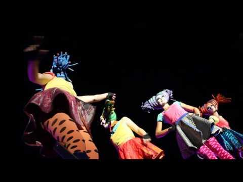 Close act-Globe (colourfull ladies)