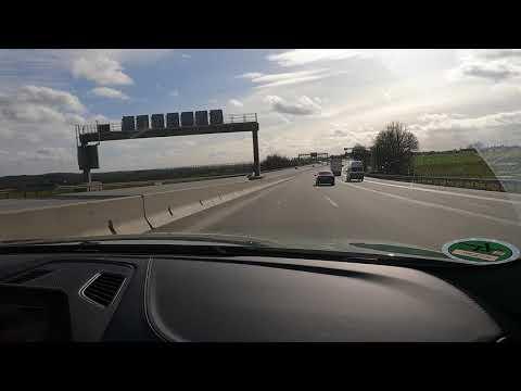 Autobahn Race: Alpina B5 V8 Vs BMW 760i V12. 260kph.