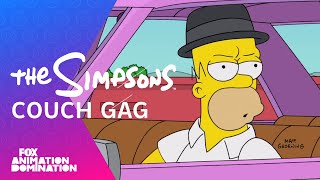 "THE SIMPSONS | Breaking Bad Couch Gag from ""What Animated Women Want"" 