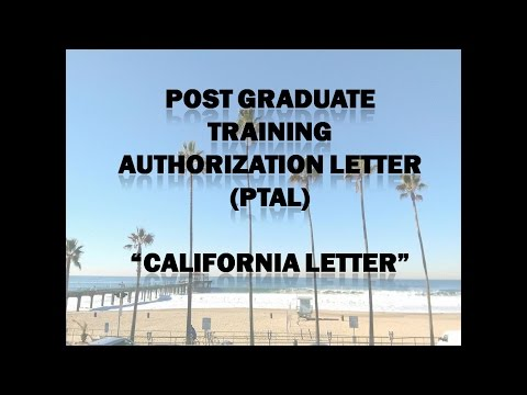 How to Apply for California Letter (PTAL)? - Mosa'ab Ammat