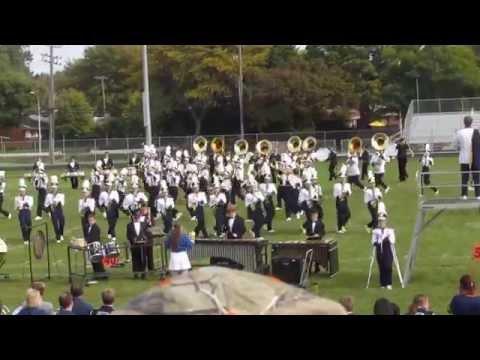 Fraser High School Marching Band - Band-O-Rama, 9/28/14