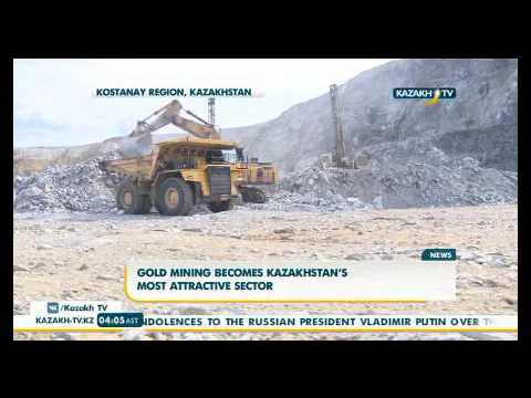 Gold mining becomes Kazakhstan's most attractive sector - KazakhTV