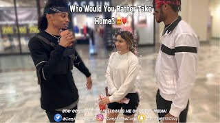 WHO WOULD YOU RATHER TAKE HOME?? 💕🏠 PUBLIC INTERVIEW