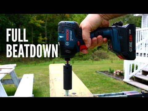 BOSCH Impact Driver 1800C (FULL REVIEW) Here is your first look at the Bosch 1800C Impact Driver!