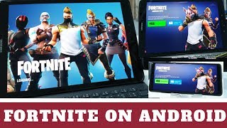 Fortnite on Samsung Galaxy Devices. WHERE and HOW to DOWNLOAD it.