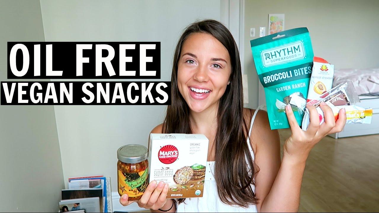 My FAVORITE Oil-Free Snacks (Vegan + Healthy)