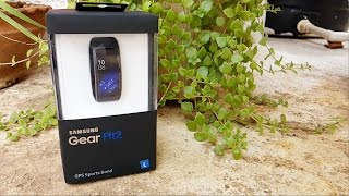 Samsung Gear Fit 2 Fitness Tracker Unboxing & Overview