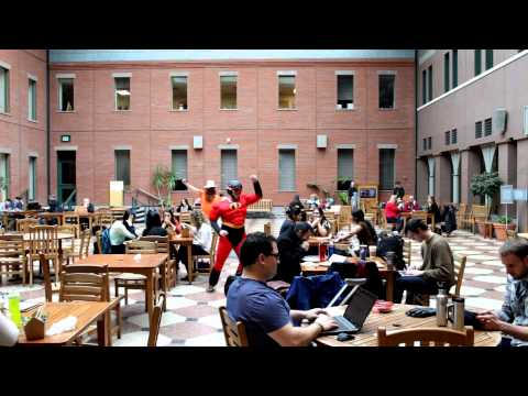 Johnson at Cornell University, Harlem Shake