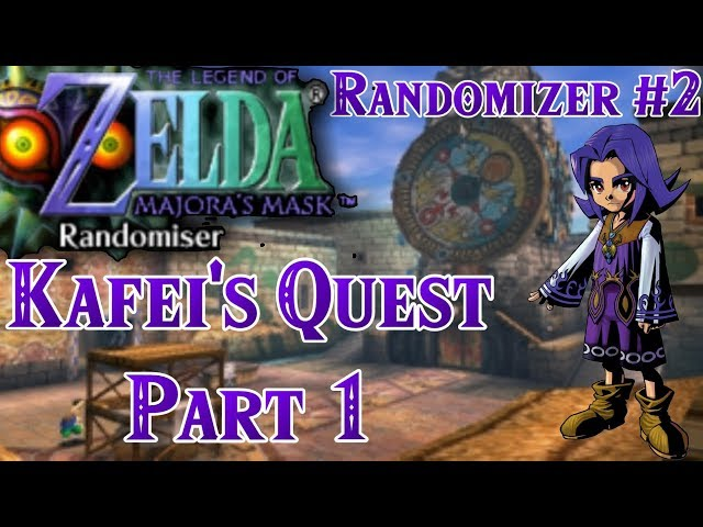 Zelda: Majora's Mask Randomizer 2019 | Kafei's Quest - Part 1