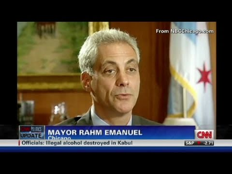 CNN: Rahm Emanuel walks out of interview