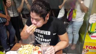 matt stonie vs furious pete pizza challange