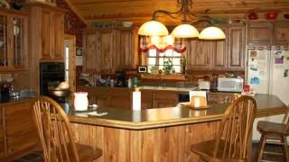 17 Acre Hobby Farm W/ 4 Bedroom Cedar Log Home