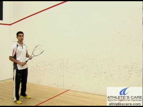 Razik\'s Squash Quick Tips 6 (Serve)