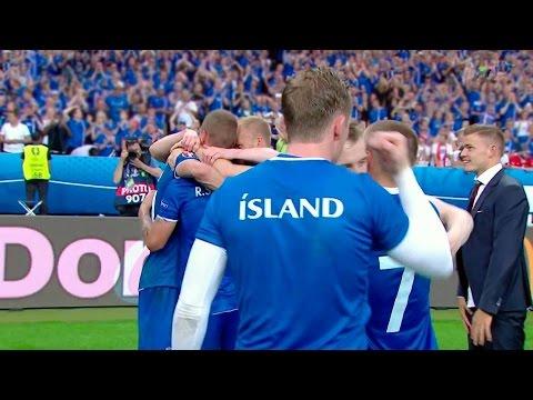 Видео: Комментатор Исландии сорвал голос, болея за свою команду на Евро-2016