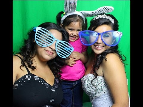Inland Empire Photo Booth - Lexi's Quinceanera