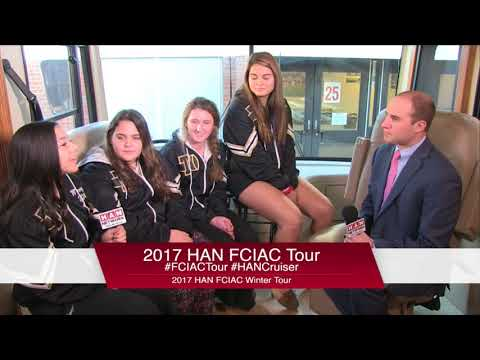 HAN Network FCIAC Winter Sports Tour 2017-18: Trumbull High School Winter Cheerleading