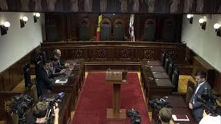 Curtea Constituţională: Revizuirea actelor din 7-9 iunie 2019