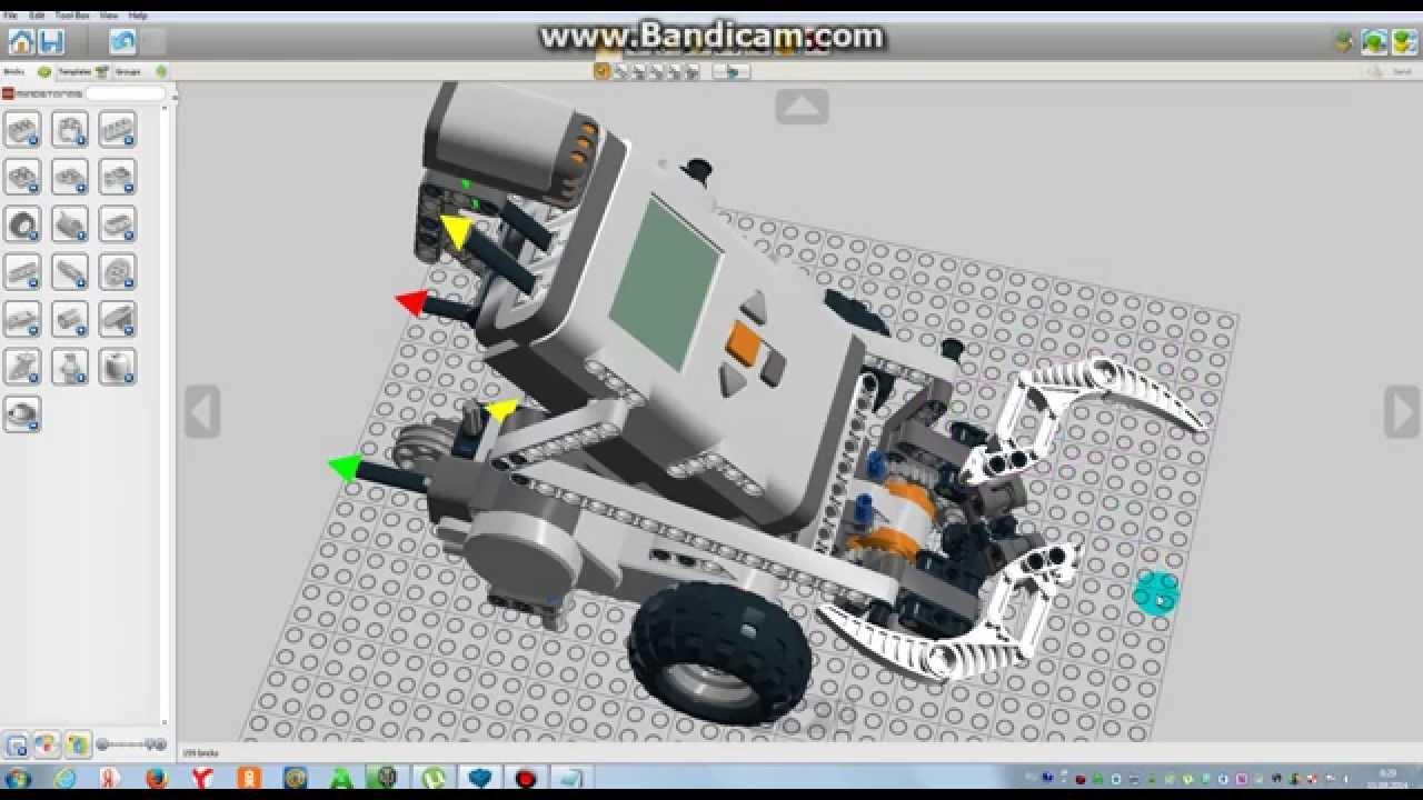 Смотрим Робота в LEGO Digital Designer ! - YouTube
