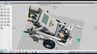 смотрим Робота в LEGO Digital Designer !