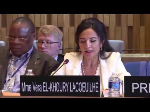 Interview of Lebanon Candidate Vera El Khoury Lacoeuilhe for the post of DG  of UNESCO