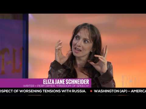 Woman of 1,000 voices  Eliza Jane stops by Night & Day on UT TV