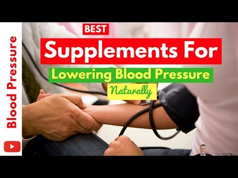 🌡 Best Supplements For Quickly Lowering Blood Pressure 100% Naturally - By Dr Sam Robbins