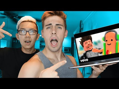 YOUTUBER REACTS TO ROBLOX MUSIC VIDEOS!!