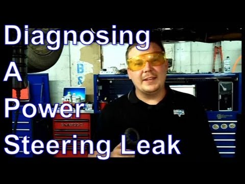 How To Diagnose a Power Steering Leak