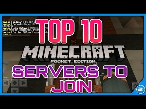 TOP 10 BEST WORKING SERVERS IN MCPE 1.1 - Minecraft PE 1.1