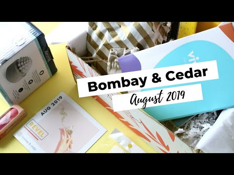 Bombay & Cedar Review August 2019: Aromatherapy Subscription Box