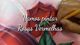 Pintando Rosas Vermelhas – Pintura no Oxford