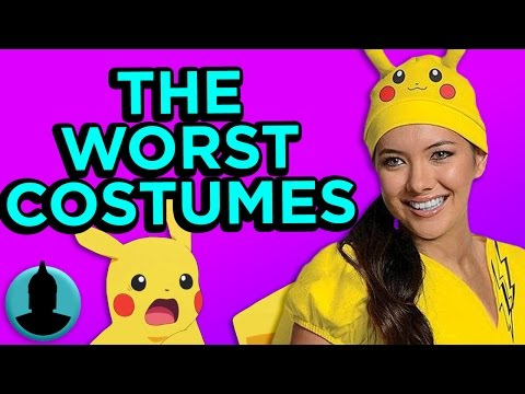 Thumbnail: 10 TERRIBLE Licensed Halloween Costumes! (Tooned Up S2 E57)